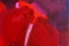 Heart I Akrylmaleri (60x60 cm) kr 6000 ur