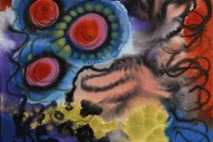 Slow down II Akrylmaleri (30x30 cm) kr 2500 ur