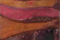 Komposisjon 12 Encaustic (46x36 cm) kr 3000