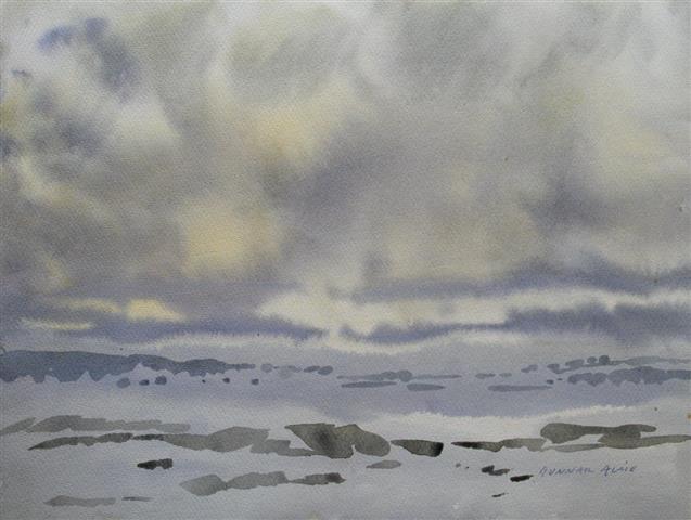 Landskap 29 Akvarell (36x48 cm) kr 3000 ur