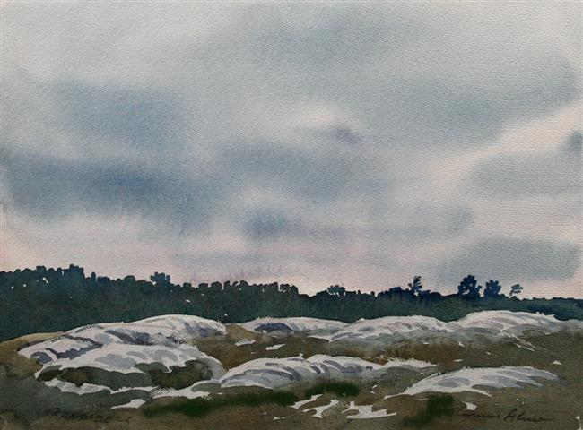 Randaberg Akvarell (30x40 cm) kr 2000 ur