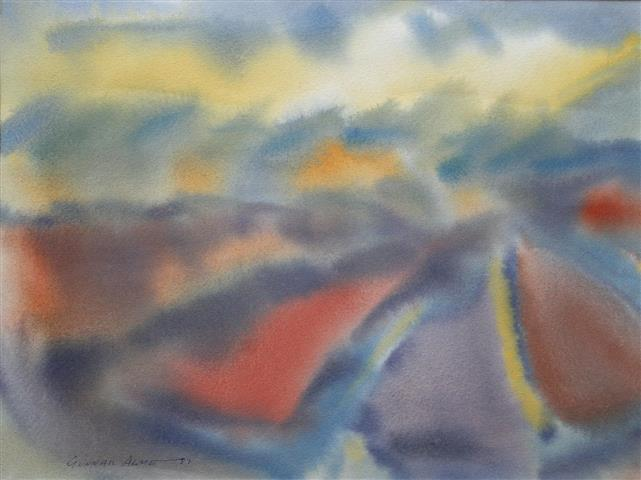 Salme Akvarell (37x49 cm) kr 3000 ur