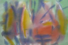 Komposisjon 2 Akvarell 36x48 cm 3000,-kr u.r.