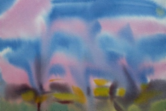 Komposisjon 4 Akvarell 36x48 cm 3000,-kr u.r.
