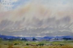 Landskap 10 Akvarell (36x48 cm) kr 3000 ur