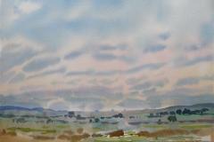 Landskap 12 Akvarell (36x48 cm) kr 3000 ur