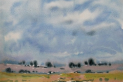 Landskap 13 Akvarell (36x48 cm) kr 3000 ur