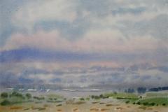 Landskap 15 Akvarell (36x48 cm) kr 3000 ur