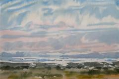 Landskap 16 Akvarell (36x48 cm) kr 3000 ur