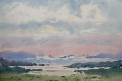 Landskap 17 Akvarell (36x48 cm) kr 3000 ur
