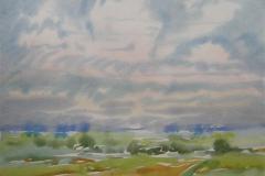 Landskap 18 Akvarell (36x48 cm) kr 3000 ur