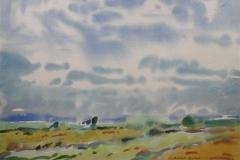 Landskap 19 Akvarell (36x48 cm) kr 3000 ur