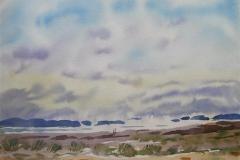 Landskap 23 Akvarell (36x48 cm) kr 3000 ur