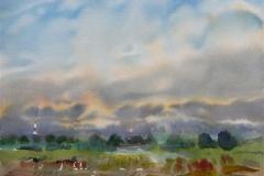 Landskap 28 Akvarell (36x48 cm) kr 3000 ur