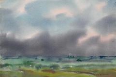 Landskap 42 Akvarell (36x48 cm) kr 3000 ur