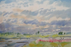 Landskap 43 Akvarell (36x48 cm) kr 3000 ur