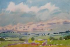 Landskap 44 Akvarell (36x48 cm) kr 3000 ur