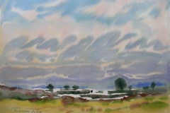 Landskap 7 Akvarell (36x48 cm) kr 3000 ur