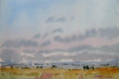 Landskap 8 Akvarell (36x48 cm) kr 3000 ur