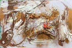 Golden era Akryl/blandet teknikk (60x90 cm) kr 4000 ur