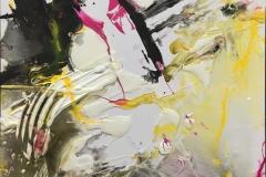 White winter del.2 Akrylmaleri (60x90 cm) kr 4000 ur