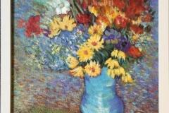 Blomster III Akrylmaleri (39x29 cm) kr 2800 mr