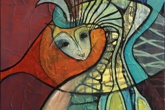 I Rampelyset 6 Akrylmaleri ( 50x50 cm) kr 4200 ur