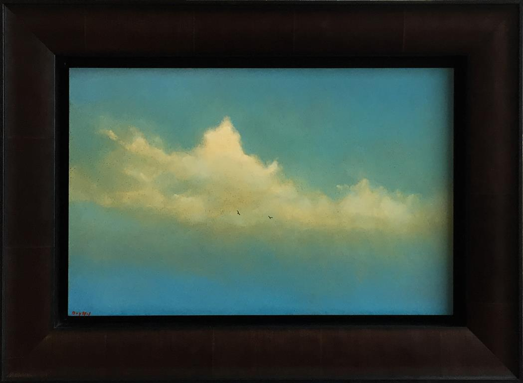 Sky II. Oljemaleri (25x40 cm) kr 12000 mr