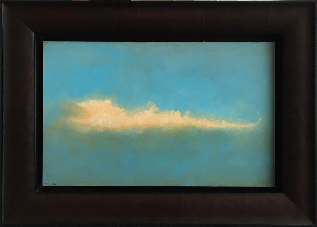 Sky III. Oljemaleri (25x40 cm) kr 12000 mr