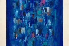 Komposisjon V Akrylmaleri (64x49 cm) kr 10000 ur