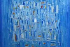 Amour a Venise Oljemaleri 100x100 cm 26000 ur
