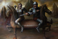 Ridere av Goya 90x110