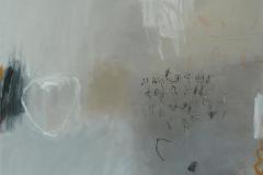 Scribbles 1 Akrylmaleri 50x50 cm 5000 ur