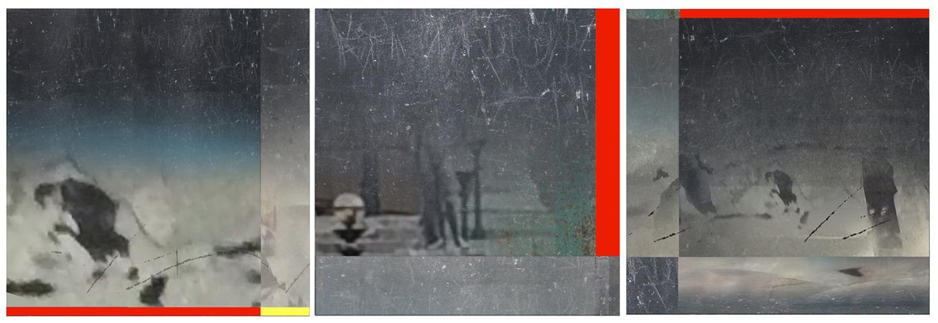 Storm Digital trykk (32x96 cm) kr 10000 ur