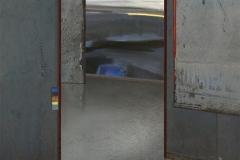 Bibliotek Akrylmaleri/trykk (90x90 cm) kr 25000 ur