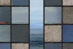 Blåne Akrylmaleri/trykk (90x90 cm) kr 25000 ur