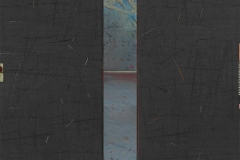 Smal åpning Digital trykk/collage (90x90 cm) kr 15000 ur