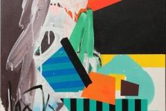 Komposisjon IV Akrylmaleri (50x50 cm) kr 4800 ur