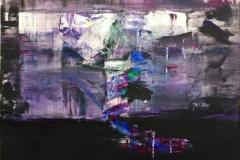 Landskap XI Akryl på papir (45x61 cm) kr 3800 ur