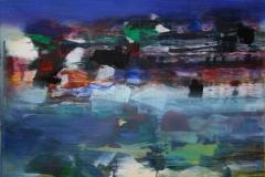 Natteliv Akrylmaleri 60x60 cm 6000 mr