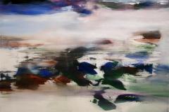 Sandstrand Akrylmaleri 80x80 cm 8500 mr