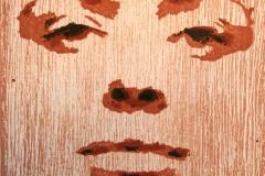 Ansikt Tresnitt 11x11 cm 500,-kr u.r.