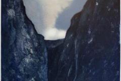 Dragning Litografi (63x42,5 cm) kr 2800 ur
