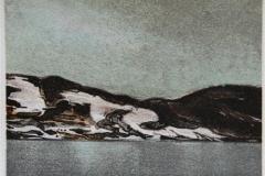 IV Litografi 13x13 cm 900,-kr u.r.