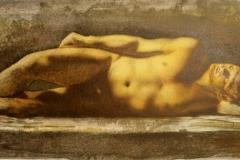 Paa steingrunn Litografi 29x93 cm 3500 ur (Medium)