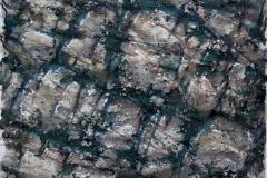 Fjellstudie II Blandet teknikk 48x62,5 cm 3000 ur