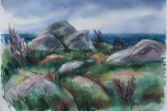 Knauser Akvarell 37x52,5 cm 2500 ur