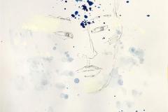 "Pia Myrvorld ""Ghostserien III"" Tegning (40x27 cm) kr 7000 mr"