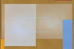 "Torunn Thrall ""Komposisjon 1"" Akrylmaleri (40x40 cm) kr 5300 ur"