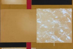 "Torunn Thrall ""Komposisjon 5"" Akrylmaleri (40x40 cm) kr 5300 ur"
